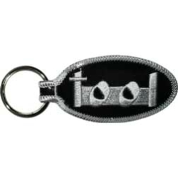 Tool Band Text Logo Keyfob