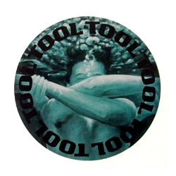 Tool Embrace Circle Sticker
