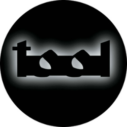 Tool Outline Shadowed Logo Pin