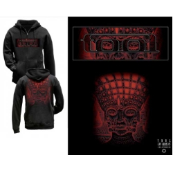 Tool Red Faces Zipper Hoodie