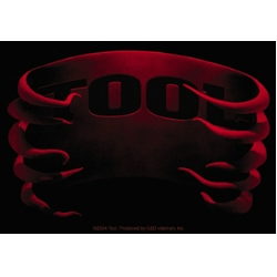 Tool Ribs Rectangle Sticker